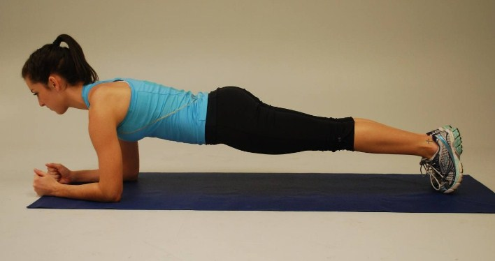 Planks-10 Best Exercises to Tone and Lose Arm Fat Fast