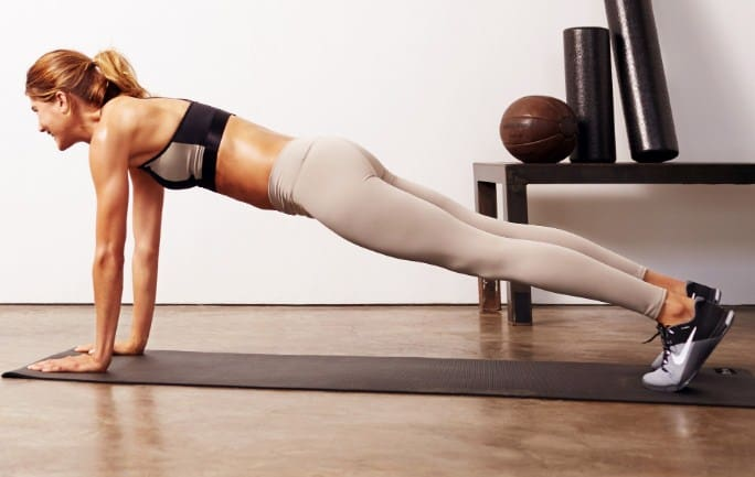 Push-Ups -Best Shoulder Exercises to Lose Fat and Tone Arm