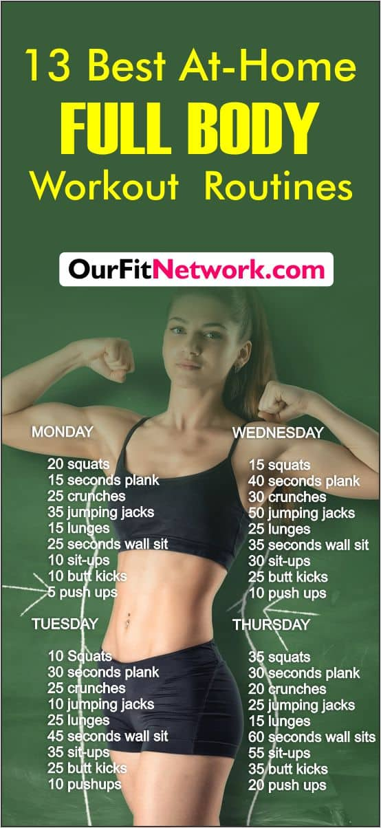 13 Best Bodyweight Workout Routine For Weight Loss | Target your arms, legs, core, upper body, abs, and glutes with these awesome exercises! You'd be able to sculpt and tone your entire body, losing significant weight. The perfect steps for both men and women especially. You can make them as intense as you want them to be and they require no equipment #bodyweight #fitness #workout #loseweight #cardio #exercises #HIIT #womensworkout #femalefitness