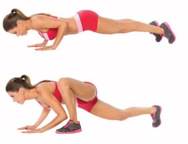 Standard Push-Up - 13 Best At-Home Workout Routine