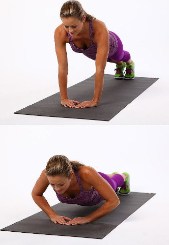 diamond-push-up-13-Best-At-Home-Workout-Routine