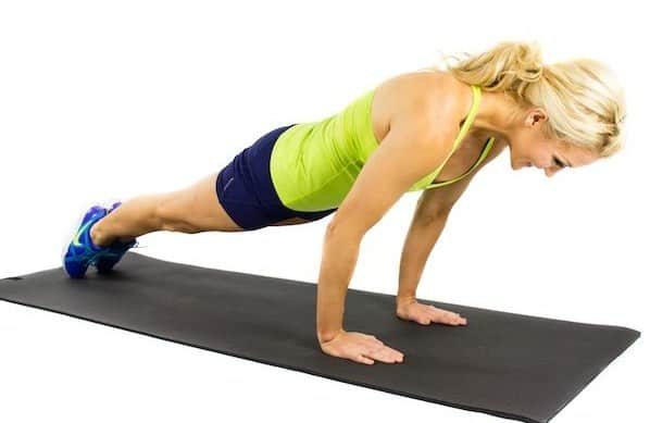 rocking-plank-13 exercises to be done at home to keep fit
