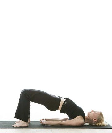 Bridge Pose (Setu Bandhasana)-Top 6 Everyday Yoga Poses For Healthy Living And Their Benefits