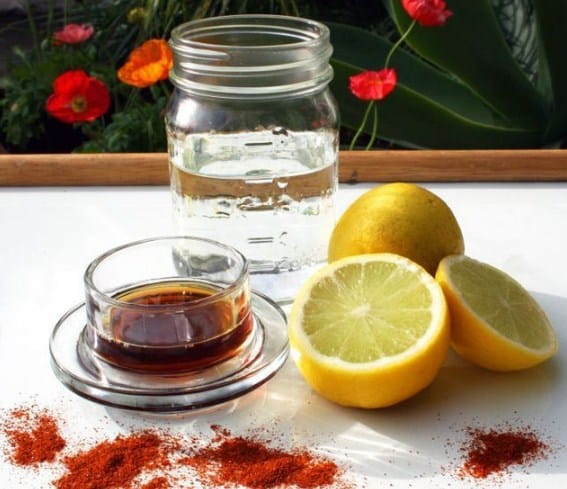 Cayenne Pepper and Lemon Water for Weight Loss