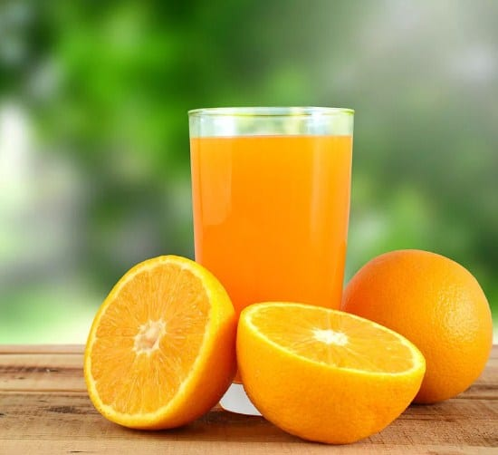 Orange Juice-10 Home Remedies To Lower Cholesterol Naturally in 3 Days