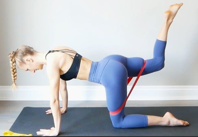 10 Best Resistance Band Workout To Get Toned Butt and Legs
