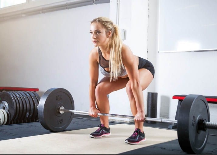 Deadlifts-12 Full Body Strength Training Workouts – Increase Stamina and Endurance
