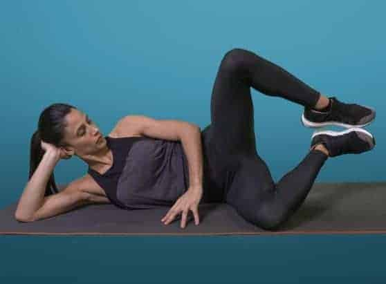 How to lose fat in the thigh with Clams Exercise