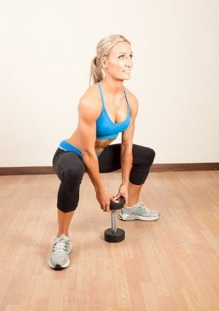 Plie Squats for shapely thighs