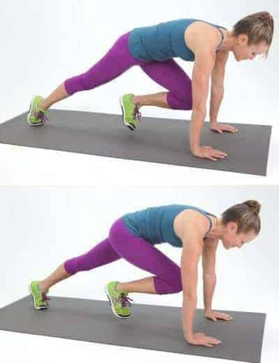 Mountain Climber For Lower Body To Tone Your Legs And Butt