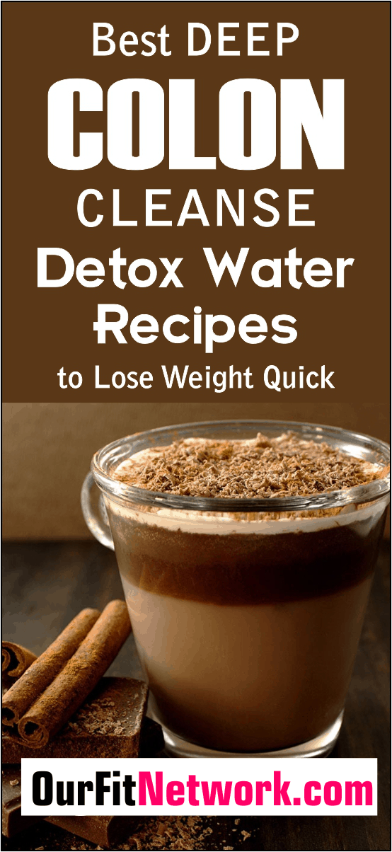 If you are looking to lose weight and drop excess pounds, you absolutely should try using deep colon cleanse detox water to lose weight fast. Each recipe works wonders for your weight loss and fitness journey! #WeightLoss #DeepColonCleanse #DetoxWater