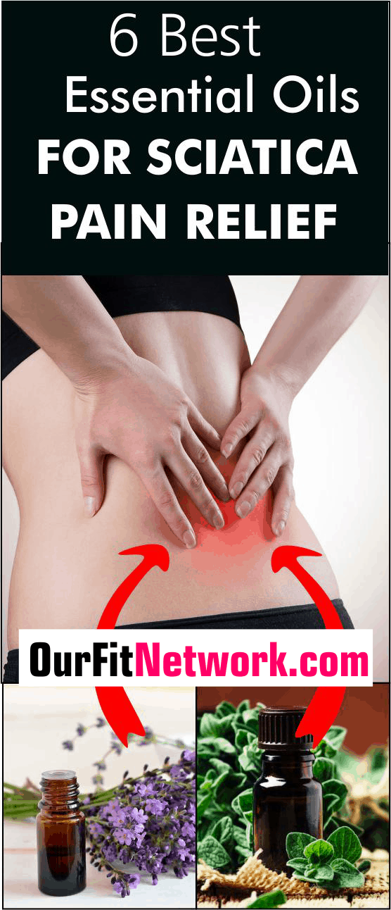 Find the potent essential oils for sciatica pain relief here! These oils are potent plant extracts that provide relief from nerve pain, sciatica, and more. You will also find essential oil blends that are quick action oils. #EssentialOils #SciaticaPainRelief #EssentialOilsForSciaticaPainRelief