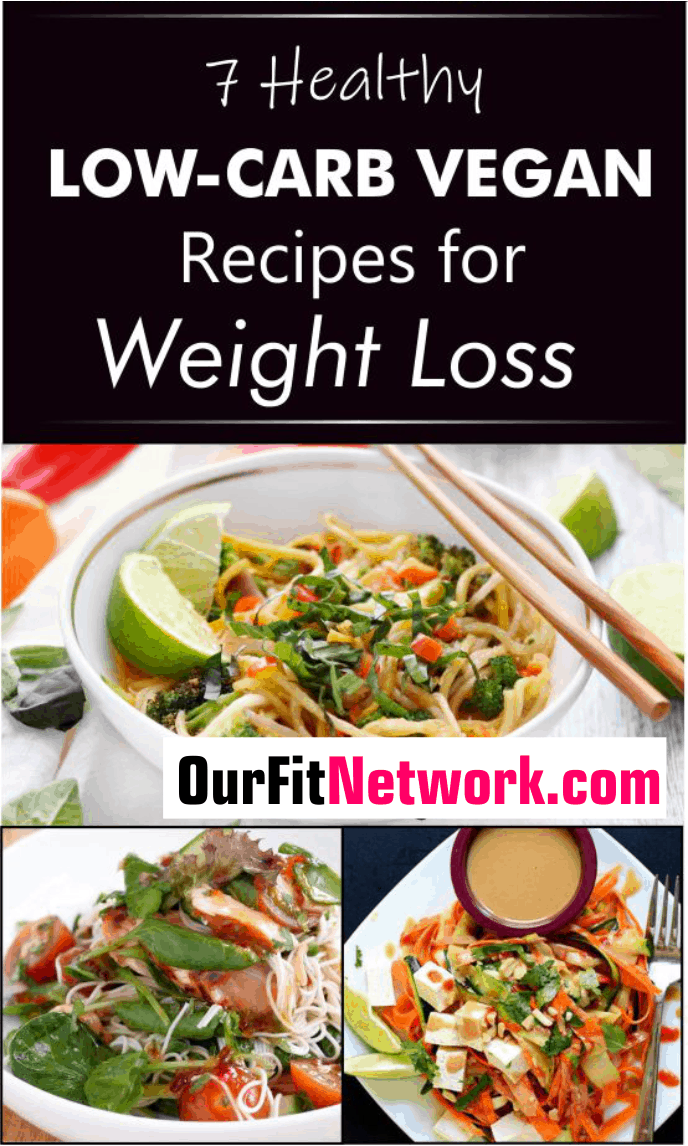This healthy vegan dimension of a low-carb diet can help you achieve your health and weight-loss goals in a healthy way and in no time. Since losing weight is largely dependent on your diet, you are sure to lose weight quick with these low-carb vegan recipes. #LowCarbVegan #VeganRecipes #WeightLoss