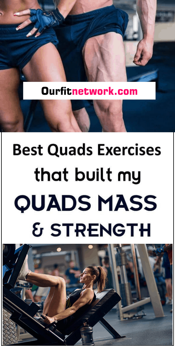To have massive and well-defined quads, you need to pay particular attention to exercising them. In this post,find the best quads exercises to help you build quads mass and improve strength. #QuadsExercises #BuildQuadMass #Fitness