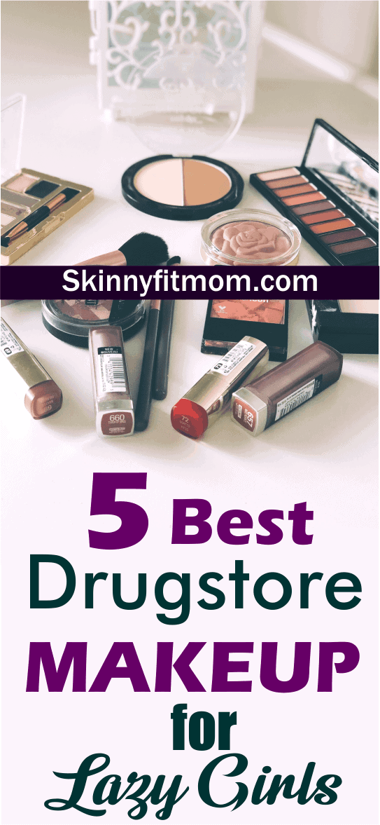 """In this post, you'll find the ultimate drugstore makeup products for lazy girls! Drugstore brands are a great alternative to """"high-end"""" brands. Pay less to get more with these amazing products #drugstore #makeup #makeupmusthave"""