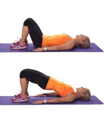 Bridges - 7 Best Core Exercises for Lower Back Pain To Get Instant Relief
