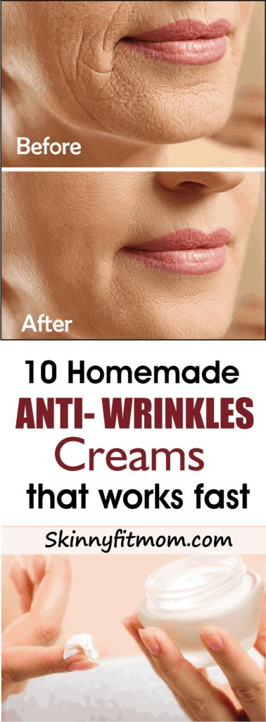 How To Get Rid of Wrinkle | 10 Best Homemade Anti Wrinkle Creams | This Homemade Anti Wrinkle Creams will Remove Wrinkles, Stretch Marks, Blemishes And Burns Fast