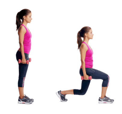 Lunge-10 Bodyweight Exercises For Lower Body To Tone Your Legs And Butt