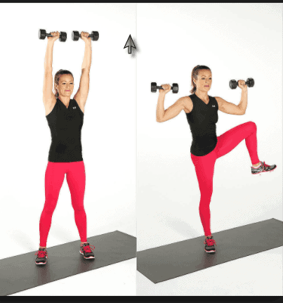 Standing Oblique Crunches- 8 Best Exercises to Get Rid of how to get rid of waist fat