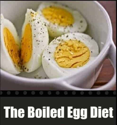 The Boiled Egg Diet - 15 Fat Burning Snacks You Can Eat at Night to Lose Weight