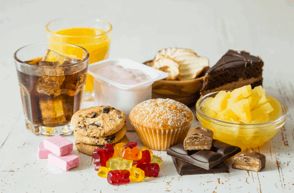 Avoid Sugary Foods - Adrenal Fatigue Diet