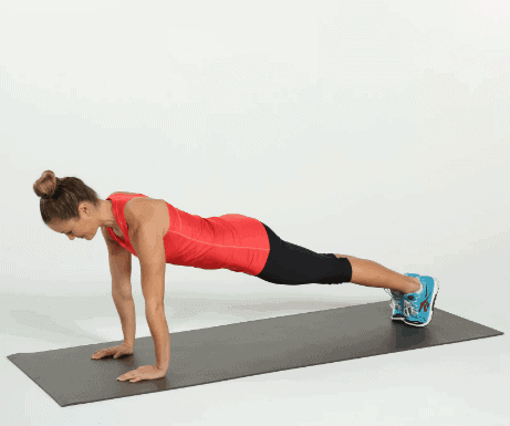 Plank - Bodyweight No Equipment Workout For Quick Weight Loss