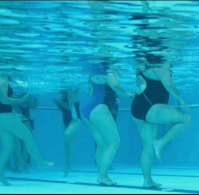 Walking or Water Exercises - Physiotherapy Exercises For Knee Pain Relief