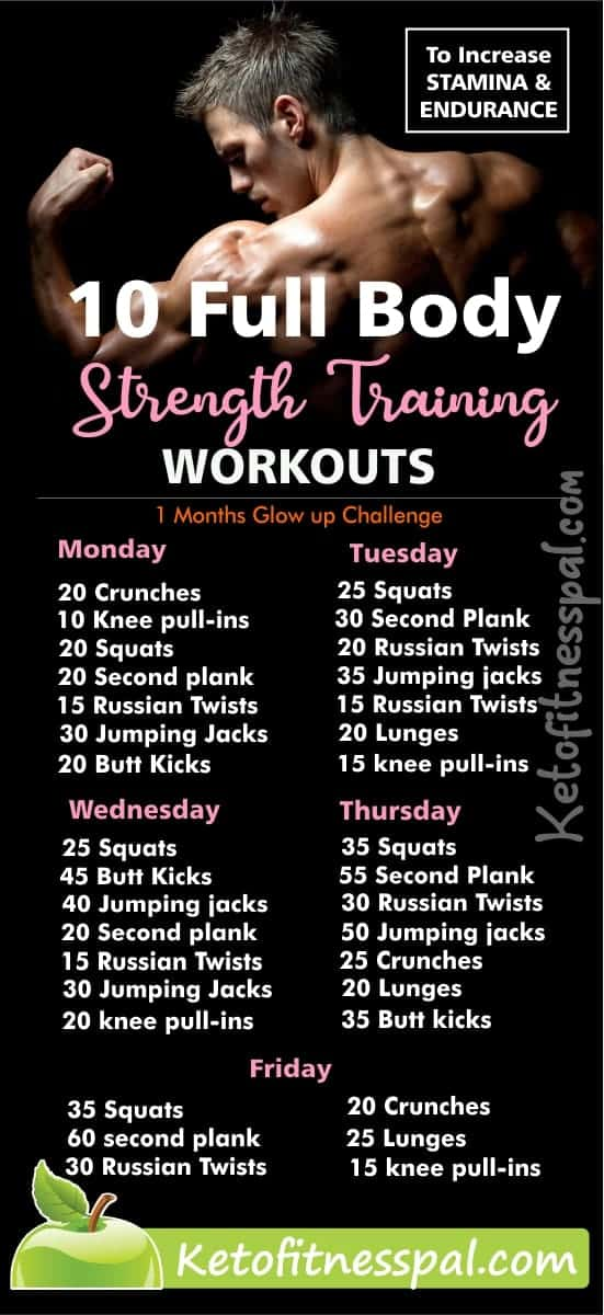Stamina training exercises offers immense value to a healthy life. They help to boost stamina and endurance. Here are 10 strength workouts you shouldn't ignore.