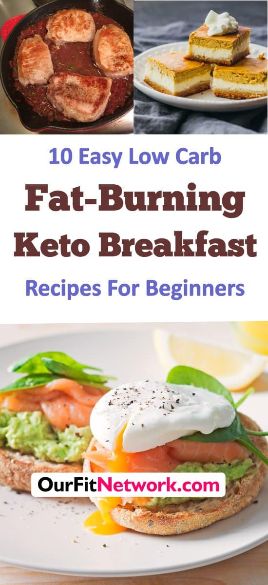 Start your day off with fat burning keto breakfast recipes. These quick and easy keto breakfast recipes will ensure your body has the fuel it needs to start the fat burning process. #ketobreakfastrecipes #fatburnrecipes #lowcarbrecipes