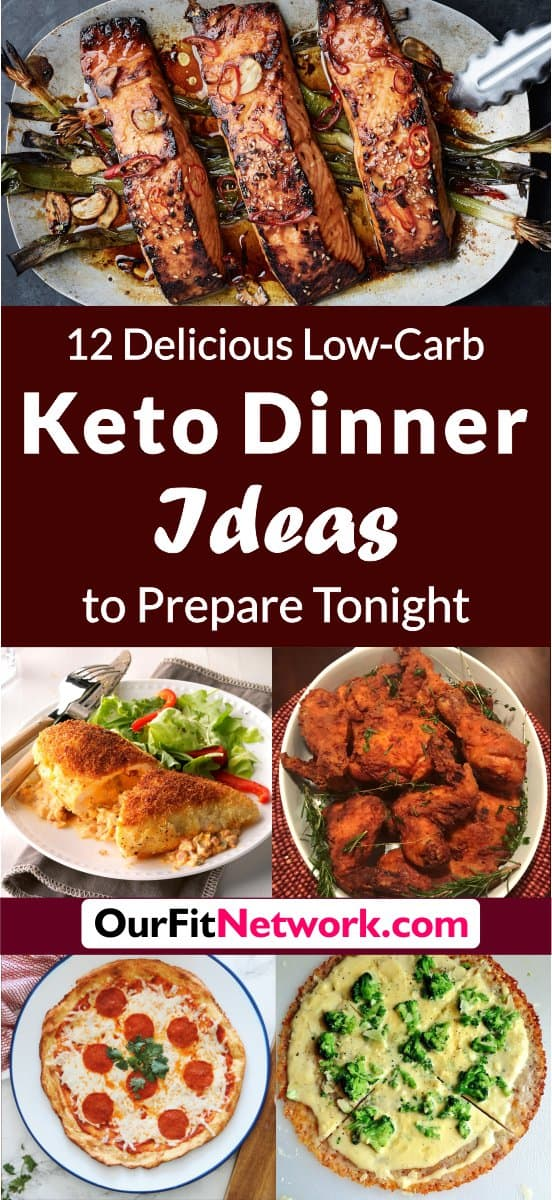 Here are delicious keto dinner ideas that you can try tonight! These recipes are sure to get your mouth watering and will leave your family singing your praise at the dinner table! Try them now! #KetoDinner #KetoDinnerIdeas #KetoDinnerRecipes