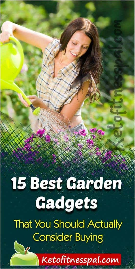 15 Useful Garden Gadgets That You Should Actually Consider Buying (for easy gardening and garden maintenance). Check out this post for more. #gardeningtips #gardenideas #gardentips