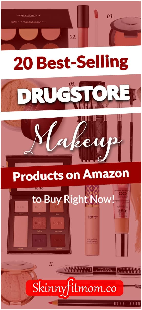 If you've not been shopping your drugstore makeup products on Amazon, then you're really missing out on many great deals and prices, not to mention free shipping. I hope that changes today! Click to make a selection on these best selling makeup products on Amazon.