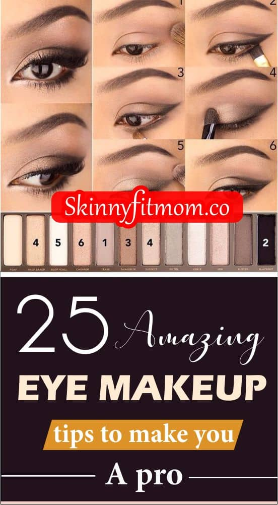 These tips and tricks for perfecting eye makeup will give you a beautiful and completely different look. You are sure to get many admiring gazes as you will be stepping out in style!
