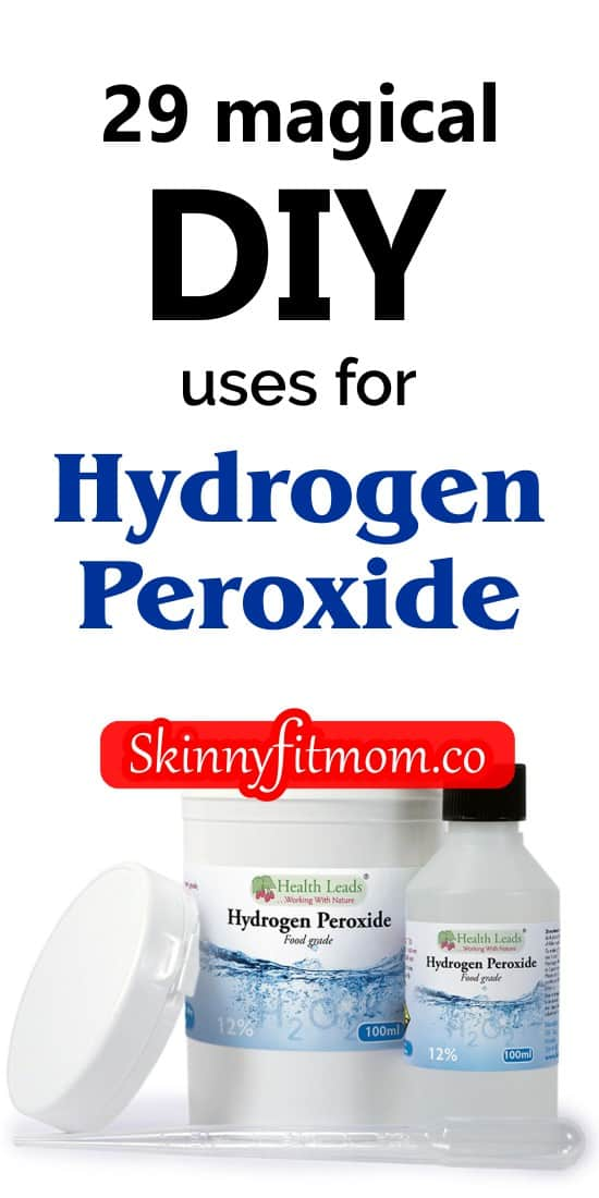 There are so many extra uses for hydrogen peroxide aside from taking care of wounds. In this post, we share 29 magical ways to use hydrogen peroxide around your home!