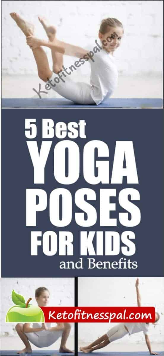 These best yoga poses for kids are a perfect way to manage stress, teach them self-acceptance, and develop confidence. In this post, we have listed 5 of the best yoga poses for your kids and reasons they should do them.