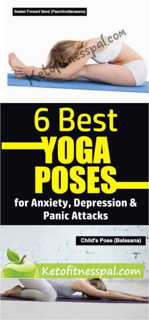 In this post, you will find the 6 best yoga poses for anxiety and depression. These poses also help to alleviate panic attacks and relieve them. Avoid dependence on anxiety pills now by doing these moves.