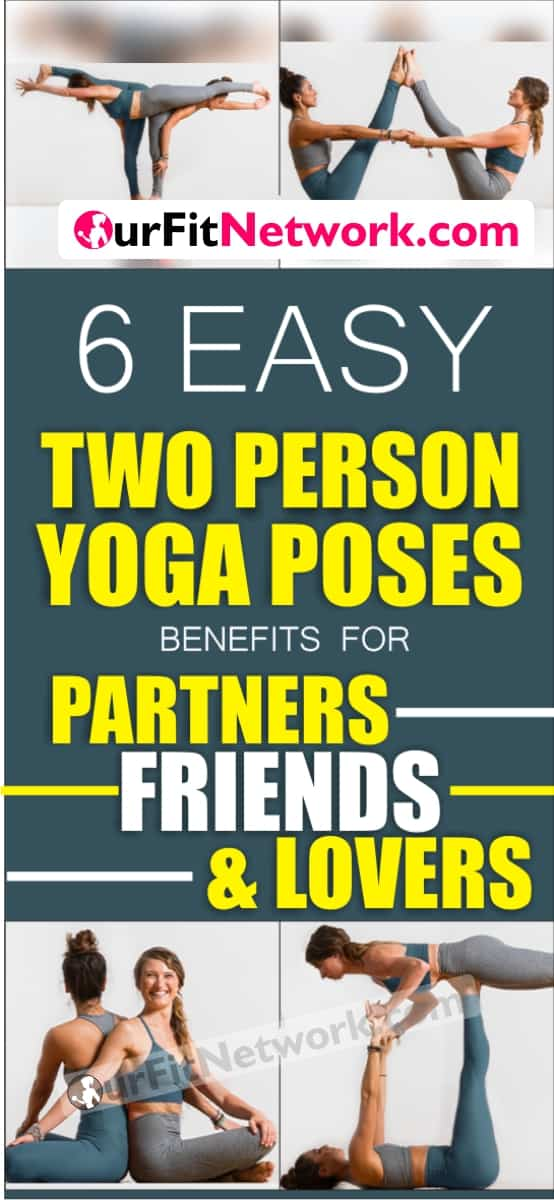 Did you know? The word 'yoga' means union in Sanskrit, and this is exactly what partner yoga aims to achieve – uniting two people. Wouldn't you rather remain united with your partner with these poses?