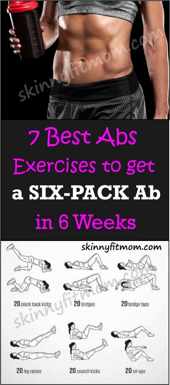 Best Abs Exercises To Get Six Pack - I started this ab workout and started seeing results in only 6 weeks. It's a challenging and effective way to tone abs fast!