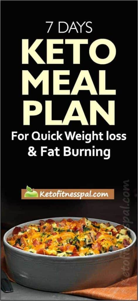 Keto meal plan is so famous because it is very low in carbs and at the same time it boosts metabolism, helps you lose weight and improves your overall health. This 7-day keto meal diet has all you need to lose weight and keep your body in the state of ketosis.