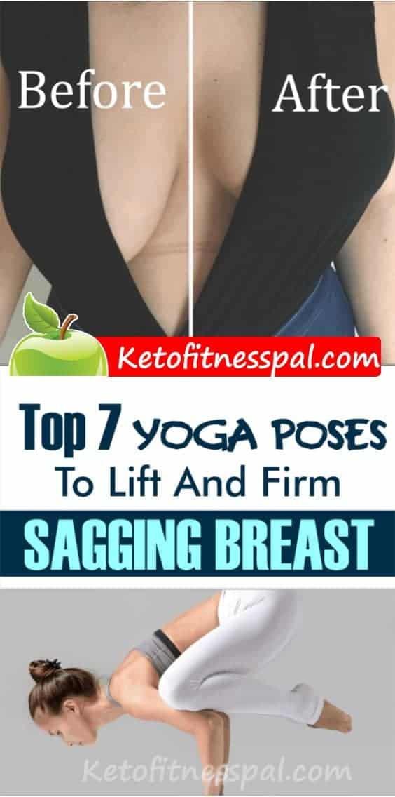 We have collected the most efficient yoga poses that will improve the shape of your breasts. Try out these 7 tried-and-true yoga poses that will give you perkier breasts in no time!
