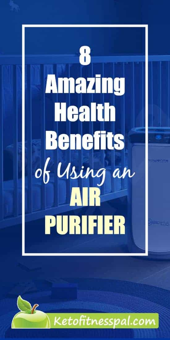 Air purifiers help with virus control, asthma symptoms, and seasonal allergies. Using one means you get to inhale healthy air among other things. Check this post for more amazing health benefits #AirPurifier #HealthBenefitsOfAirPurifier #CleanAir