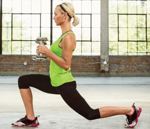 9 Body Tone Workouts – Jump Lunges