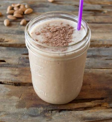 Berry Oat Shake- Protein Shake Recipes for Weight Loss