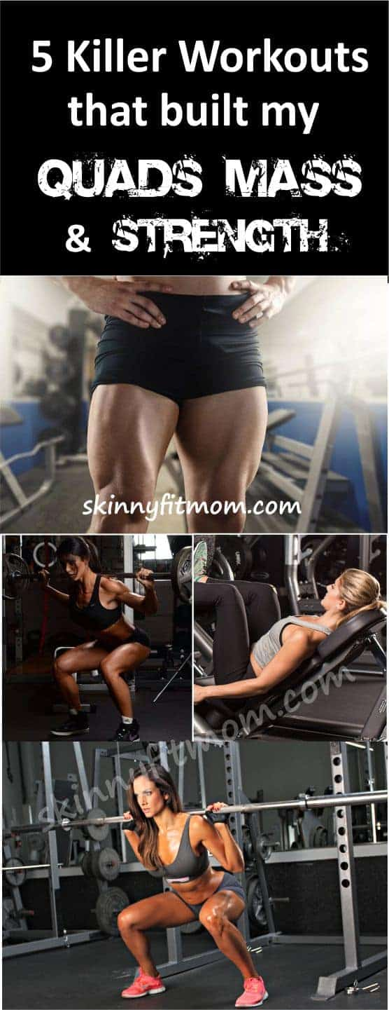 Here are killer workouts necessary for building massive quads mass and strength. Each move sculps the muscles in your quads and leaves your lower body looking delectable. #QuadsExercises #BuildQuadMass #Fitness