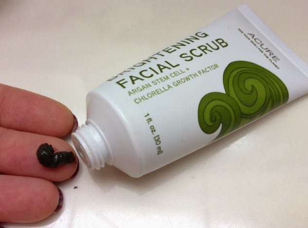 Brightening Facial Scrub - Drugstore Makeup Products