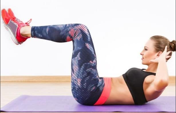 Crunches- 7 Best Fat Burning Workouts for Quick Weight Loss