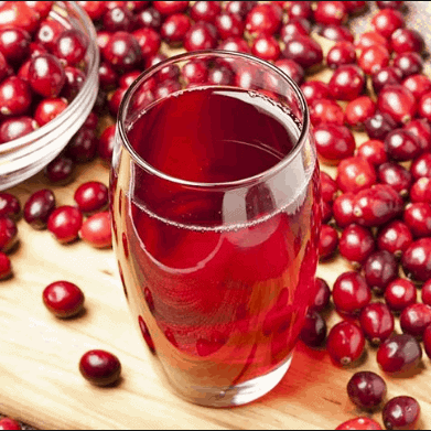 Drink Unsweetened Cranberry Juice - How To Relieve UTI Pain