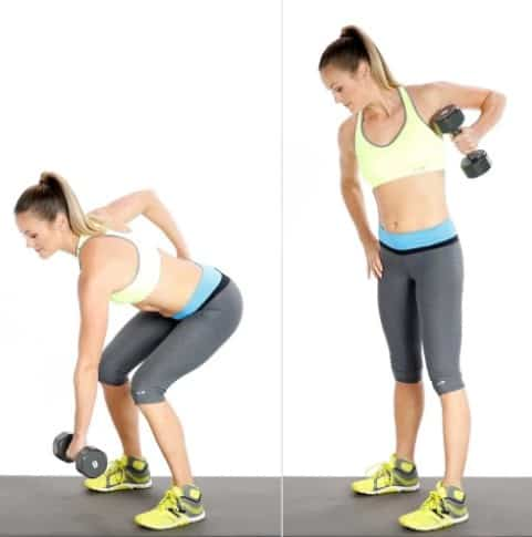 Dumbbell Side Lunge And Touch- Best Butt Exercises To Get A Firm, Lifted, And Rounded Booty