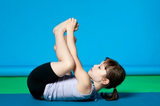 Easy Pose- Yoga Poses For Kids