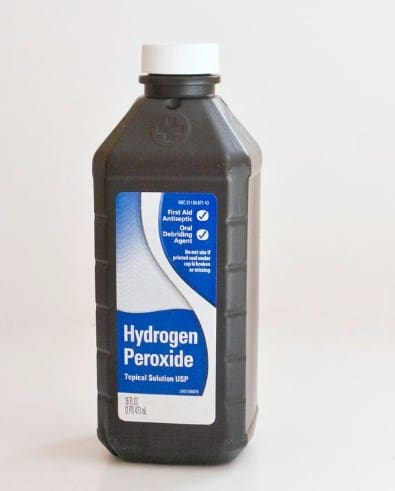 Hydrogen Peroxide- Home Remedies To Get Rid Of Canker Sores.